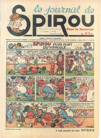 Cover for Le Journal de Spirou (Dupuis, 1938 series) #25/1938