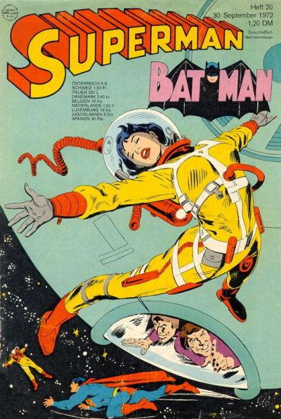 Cover for Superman (Egmont Ehapa, 1966 series) #20/1972