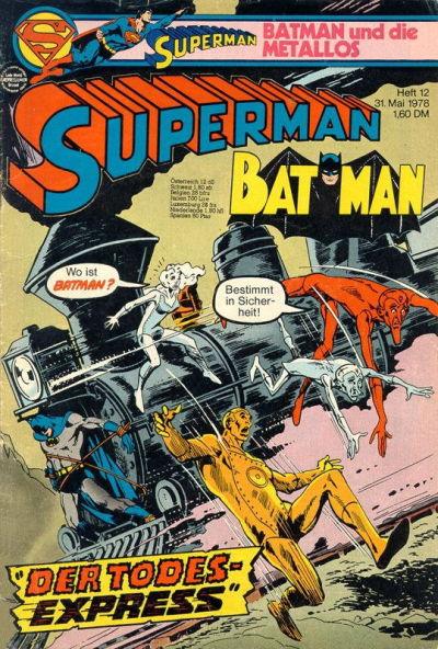 Cover for Superman (Egmont Ehapa, 1966 series) #12/1978