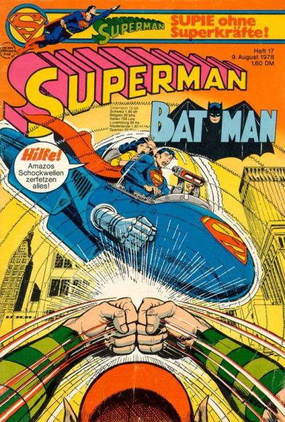 Cover for Superman (Egmont Ehapa, 1966 series) #17/1978