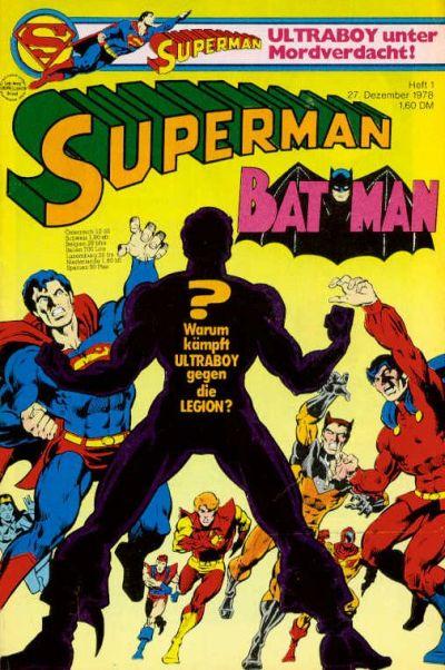 Cover for Superman (Egmont Ehapa, 1966 series) #1/1979