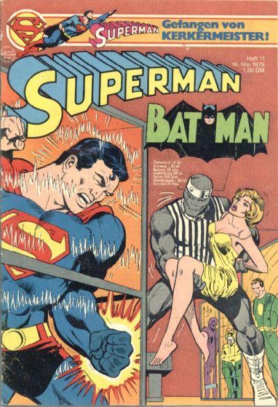 Cover for Superman (Egmont Ehapa, 1966 series) #11/1979