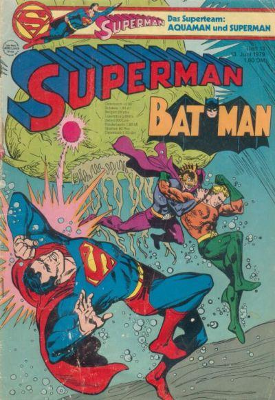 Cover for Superman (Egmont Ehapa, 1966 series) #13/1979