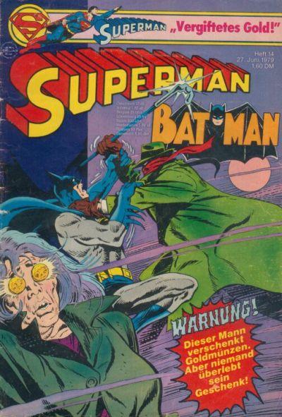 Cover for Superman (Egmont Ehapa, 1966 series) #14/1979