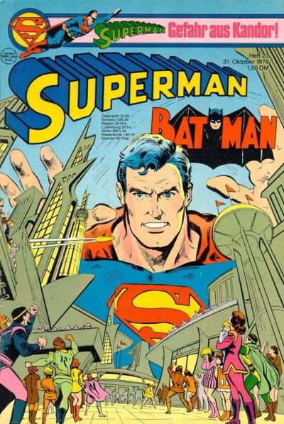 Cover for Superman (Egmont Ehapa, 1966 series) #23/1979