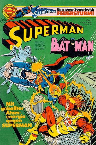 Cover for Superman (Egmont Ehapa, 1966 series) #7/1980