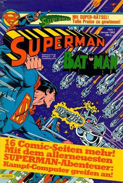 Cover for Superman (Egmont Ehapa, 1966 series) #1/1983