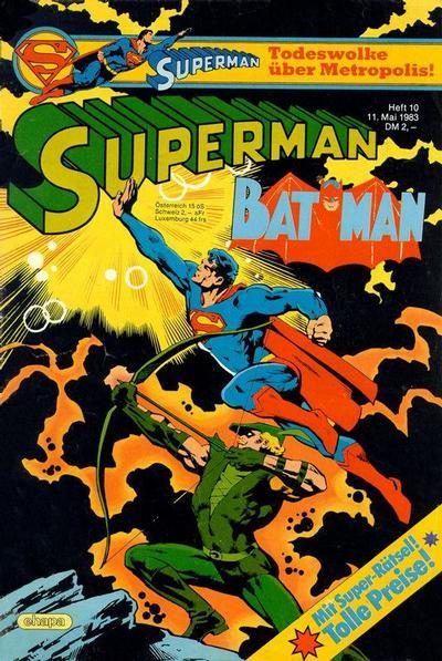 Cover for Superman (Egmont Ehapa, 1966 series) #10/1983