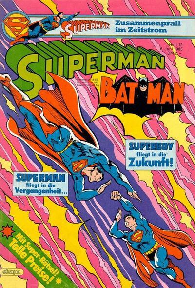 Cover for Superman (Egmont Ehapa, 1966 series) #12/1983