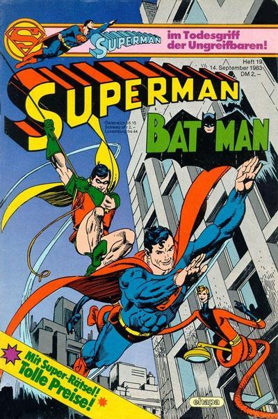 Cover for Superman (Egmont Ehapa, 1966 series) #19/1983