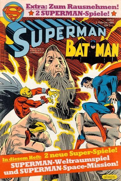 Cover for Superman (Egmont Ehapa, 1966 series) #3/1984