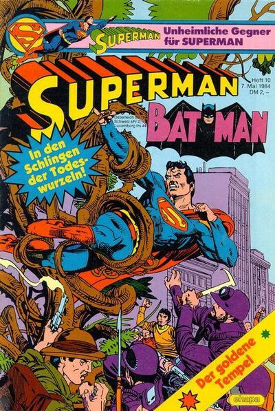 Cover for Superman (Egmont Ehapa, 1966 series) #10/1984
