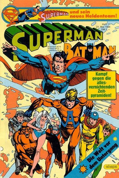 Cover for Superman (Egmont Ehapa, 1966 series) #11/1984
