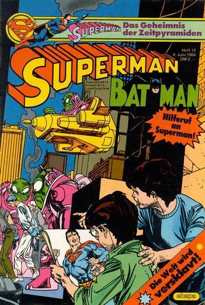Cover for Superman (Egmont Ehapa, 1966 series) #12/1984