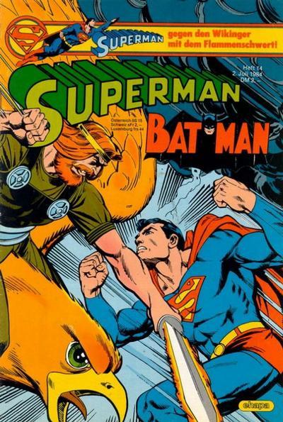 Cover for Superman (Egmont Ehapa, 1966 series) #14/1984