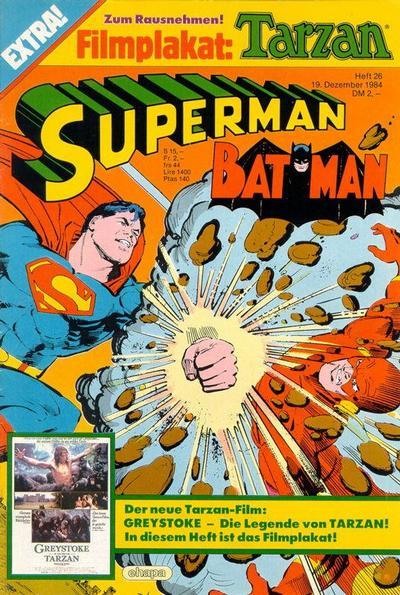 Cover for Superman (Egmont Ehapa, 1966 series) #26/1984