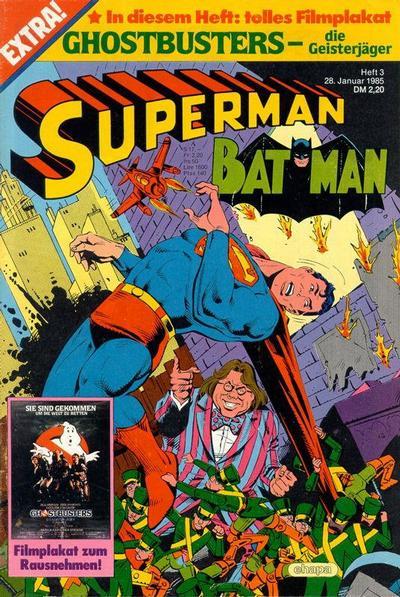 Cover for Superman (Egmont Ehapa, 1966 series) #3/1985
