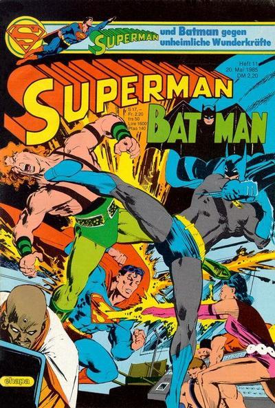 Cover for Superman (Egmont Ehapa, 1966 series) #11/1985