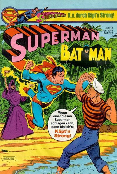 Cover for Superman (Egmont Ehapa, 1966 series) #13/1985