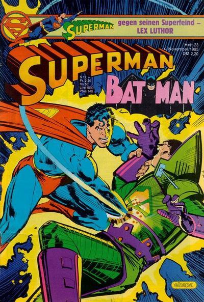 Cover for Superman (Egmont Ehapa, 1966 series) #23/1985