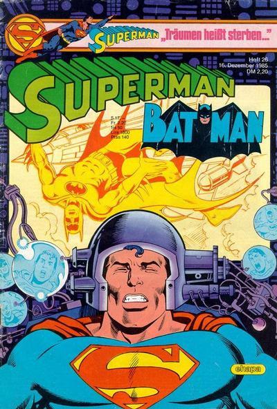 Cover for Superman (Egmont Ehapa, 1966 series) #26/1985