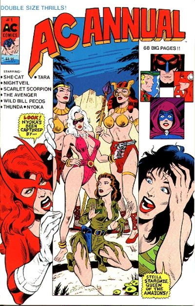 Cover for AC Annual (AC, 1990 series) #1