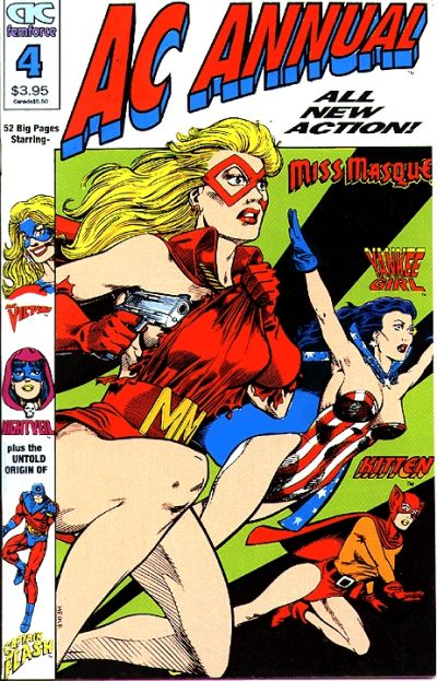 Cover for AC Annual (AC, 1990 series) #4