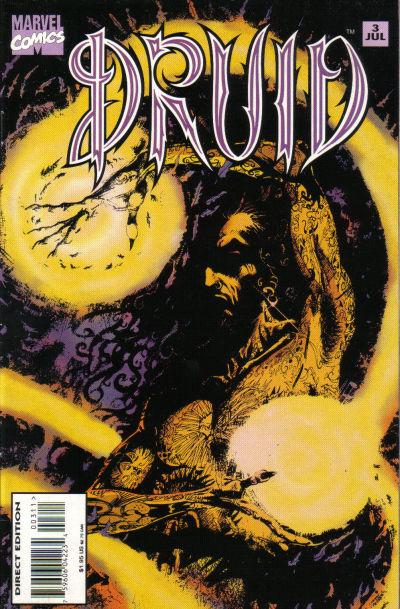Cover for Druid (Marvel, 1995 series) #3