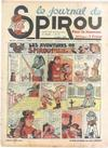 Cover for Le Journal de Spirou (Dupuis, 1938 series) #27/1939