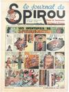 Cover for Le Journal de Spirou (Dupuis, 1938 series) #28/1939