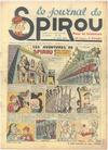 Cover for Le Journal de Spirou (Dupuis, 1938 series) #30/1939