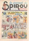 Cover for Le Journal de Spirou (Dupuis, 1938 series) #31/1939