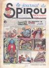 Cover for Le Journal de Spirou (Dupuis, 1938 series) #44/1939