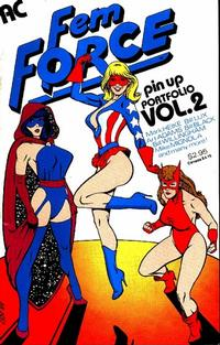 Cover Thumbnail for AC Femforce Pin Up Portfolio (AC, 1987 series) #2