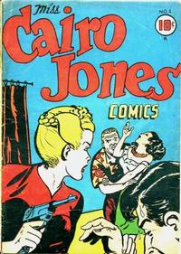 Cover Thumbnail for Miss Cairo Jones (Croydon Publishing Co., 1945 series) #1