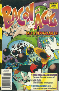 Cover Thumbnail for Bacon & Ägg (Semic, 1995 series) #1/1996