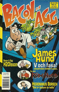 Cover Thumbnail for Bacon & Ägg (Semic, 1995 series) #3/1996