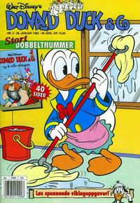 Cover Thumbnail for Donald Duck & Co (Hjemmet / Egmont, 1948 series) #4/1993