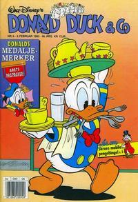 Cover Thumbnail for Donald Duck & Co (Hjemmet / Egmont, 1948 series) #6/1993
