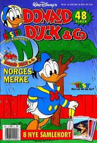 Cover Thumbnail for Donald Duck & Co (Hjemmet / Egmont, 1948 series) #26/1993