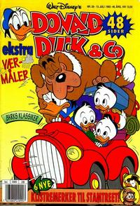 Cover Thumbnail for Donald Duck & Co (Hjemmet / Egmont, 1948 series) #28/1993