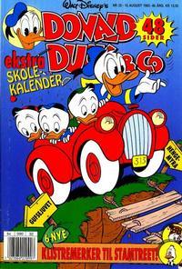 Cover Thumbnail for Donald Duck & Co (Hjemmet / Egmont, 1948 series) #32/1993