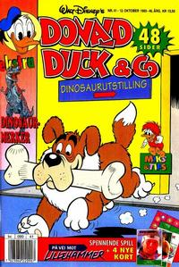 Cover Thumbnail for Donald Duck & Co (Hjemmet / Egmont, 1948 series) #41/1993