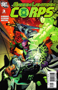 Cover Thumbnail for Green Lantern Corps (DC, 2006 series) #3