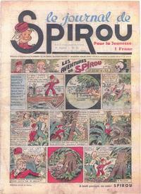 Cover Thumbnail for Le Journal de Spirou (Dupuis, 1938 series) #12/1939