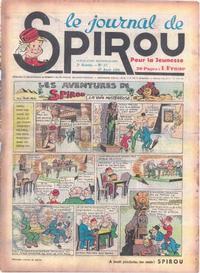 Cover Thumbnail for Le Journal de Spirou (Dupuis, 1938 series) #17/1939