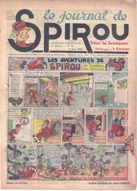 Cover Thumbnail for Le Journal de Spirou (Dupuis, 1938 series) #23/1939