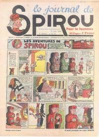 Cover Thumbnail for Le Journal de Spirou (Dupuis, 1938 series) #25/1939