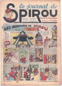 Cover Thumbnail for Le Journal de Spirou (Dupuis, 1938 series) #29/1939