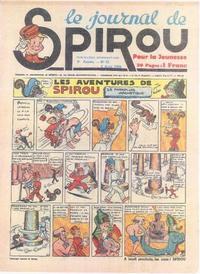 Cover Thumbnail for Le Journal de Spirou (Dupuis, 1938 series) #31/1939